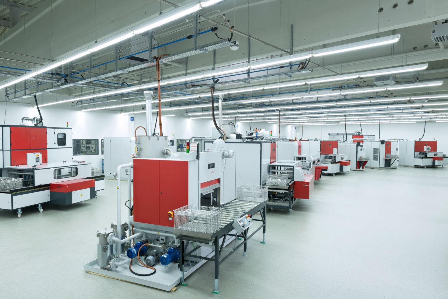 Reinigungsnachweis im PERO Kompetenz-Zentrum – verfügbare Anlagen